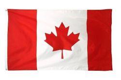 CDA Flag 3'x5'>Canada Poly. Heavy