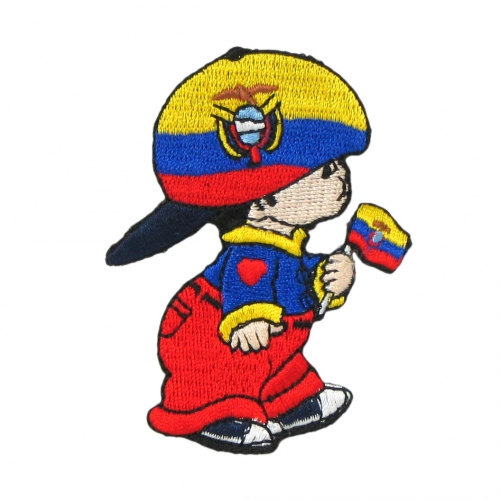 Baby PatchEcuador Reppa Flags And Souvenirs - Ecuador flags