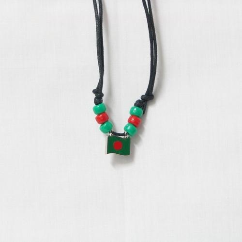 Bangladesh Flag Bracelet
