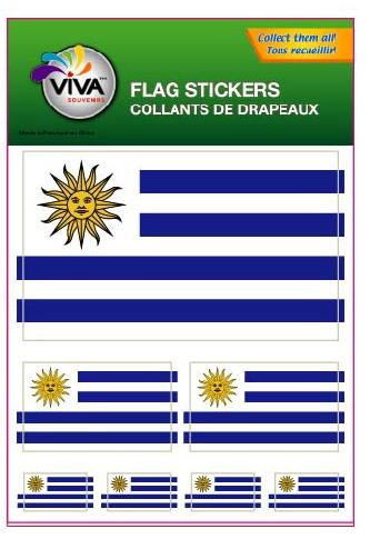 Flag stickeruruguay