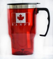 BAN Travel Mug>450 Handle Flag