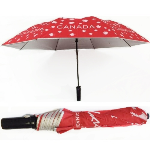cda umbrella maple leaf 2 fold red reppa flags and souvenirs. Black Bedroom Furniture Sets. Home Design Ideas