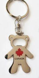 CDA Keychain>Bear silver