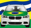 Car Hood Flag>Brazil