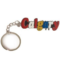 CDA Keychain>Calgary color letters