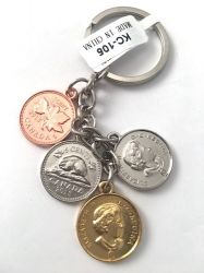 CDA Keychain>Canada Money Charm